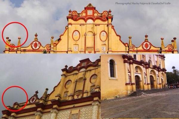 Daños en la Catedral de la Paz