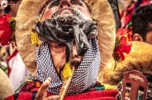 El PAtrón de los Parachicos. Foto: Miguel Castanedo.