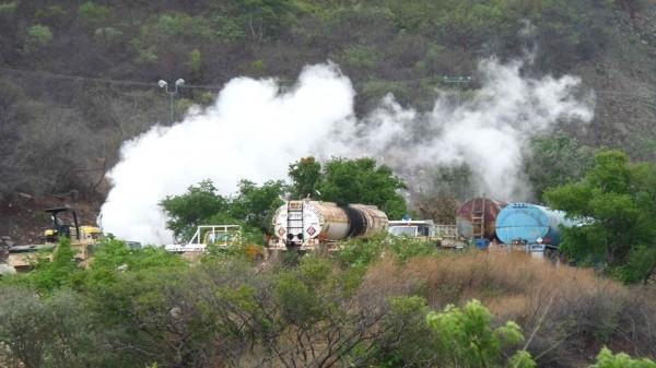 Gases contaminantes son arrastrados hacia el centro de Tuxtla Gutiérrez. Foto: Chiapas Paralelo