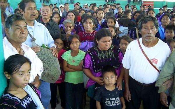Desplazados por el conflicto Chenalhó-Chalchiuitán. Foto: Emiliano Hernández