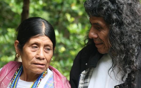 El Viejo Antonio y su esposa. Foto: Ángeles Mariscal