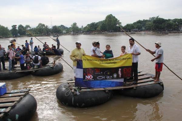 Exigen se detenga la deportación masiva de niños y niñas migrantes. Foto: Elizabeth Ruiz