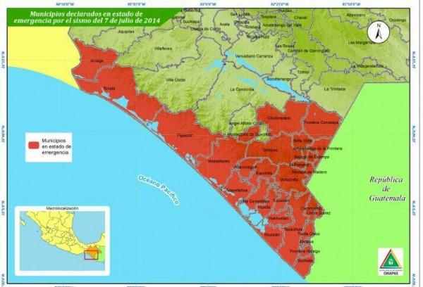 Infografía: Protección Civil Chiapas