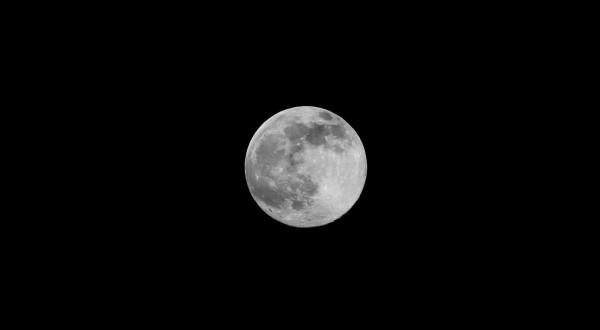 El verdadero color de la luna es un gris obscuro. Foto: Francisco Velásquez/ Foto: Chiapas PARALELO.