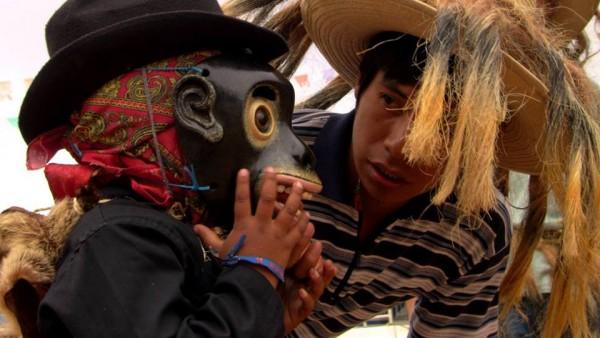 La danza del negrito, en Coapilla. Foto: Saúl Kak