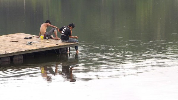 Los niños de la Laguna. Foto: Saúl Kak