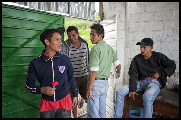 Martín Morales recibe diariamente a los migrantes en el albergue de Cristo Rey en Apizaco Tlaxcala