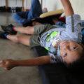Migrante hondureño en su paso por México rumbo a Estados Unidos. Foto: Elizabeth Ruiz