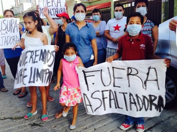 PROFEPA, Secretaría de Medio Ambiente estatal y Ayuntamiento de Tuxtla, se niegan a proceder contra asfaltadora de COMASUR. Foto: Chiapas Paralelo