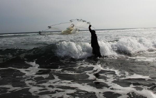 Viviendo de los productos del litoral chiapaneco. Foto: Elizabeth Ruiz