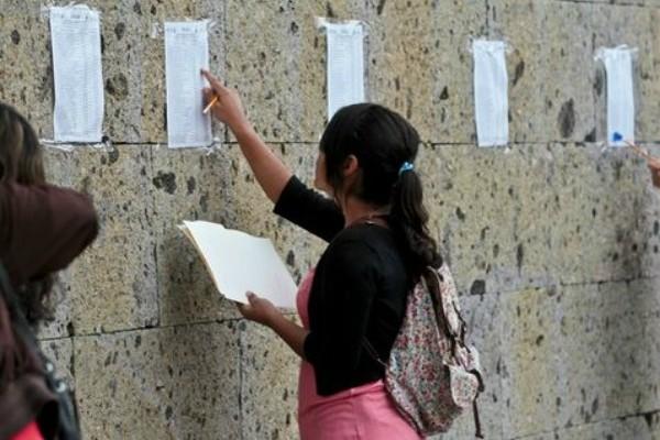 Aspirante universitaria. Foto: Revolución Tres Punto Cero