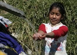 Agua potable en comunidades indígenas.