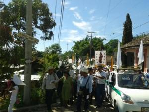 Pueblo Creyente exige seguridad. Foto: Koman Illel