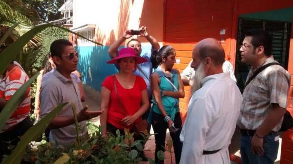 Inseguridad no es culpa de albergue contesta Flor de María Rigoni. Foto: Chiapas PARALELO