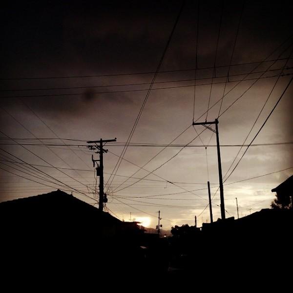 Atardecer en Suchiapa. Foto: Emilio Ruiz