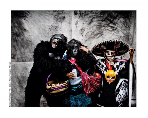 Tancoy Pinolteca. Las Rosas, Chiapas / 2010. Máscaras Chiapanecas. Foto: Ariel Silva
