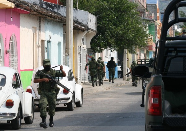 Vigilarán Policías Federales, Militares y policías estatales las fiestas patrias.  Foto: Isaín Mandujano