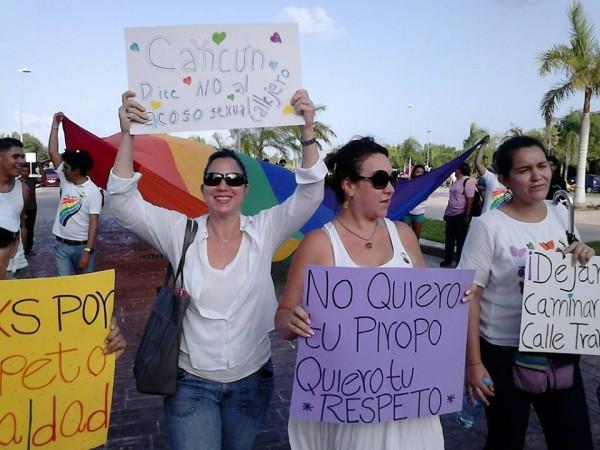Mujeres contra el acoso callejero