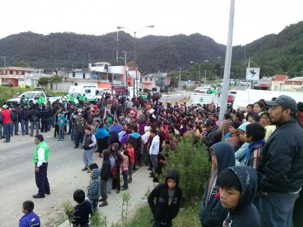 Desplazados San Antonio del Monte. Foto: Emiliano Hernández