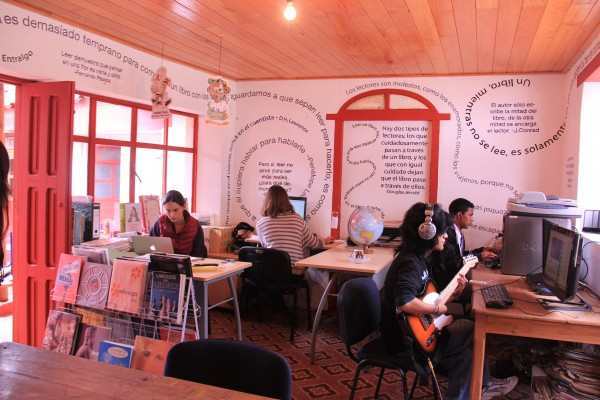 La biblioteca del Ingenio. Foto: Francisco López Velásquez/ Chiapas PARALELO.