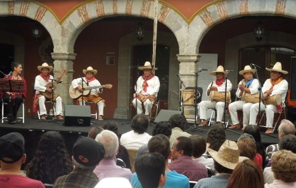 El pasado 2 de agosto se presentó en la Fonoteca Nacional el disco triple Viva el Mequé, música y celebraciones de los zoques de Tuxtla en la Fonoteca Nacional. Foto: Anatol Vázquez García.