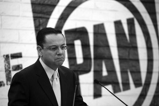 El ex presidente del PAN. (Foto: Germán Canseco)