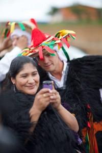 Peña Nieto en Chamula. Foto: Presidencia