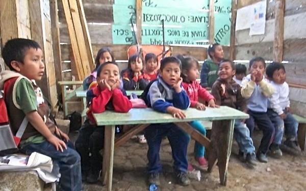 Regreso a clase en Chiapas. Foto: Emiliano Hernández