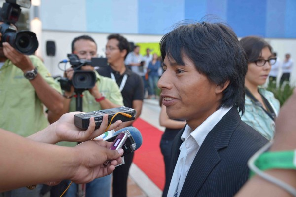 """Rodolfo Domínguez, protagonista de """"La Jaula de Oro"""". Foto: Cortesía"""