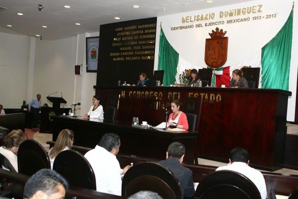 Los diputados y diputadas en el Congreso del Estado. Foto: cortesía.