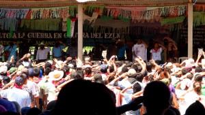 En la plenaria, en La Realiad. Foto: Saúl Kak