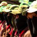 EZLN en apoyo a normalistas de Ayotzinapa. Foto: Saúl Kak