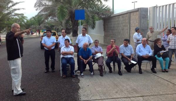 Moscoso, recordando al Dr. Gómez Maza. Foto: Chiapas PARALELO
