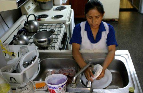2.2 millones de personas se ocupan en México como trabajadoras domésticas remuneradas. Foto: Cortesía