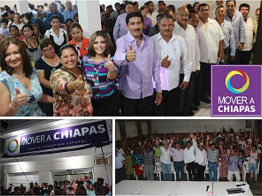 Mover a Chiapas, un apéndice gubernamental.