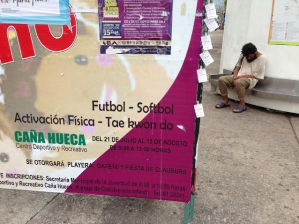 Las clases desprotegidas siguen ajenas a la moda deportiva sexenal. Foto: Javier Cordero