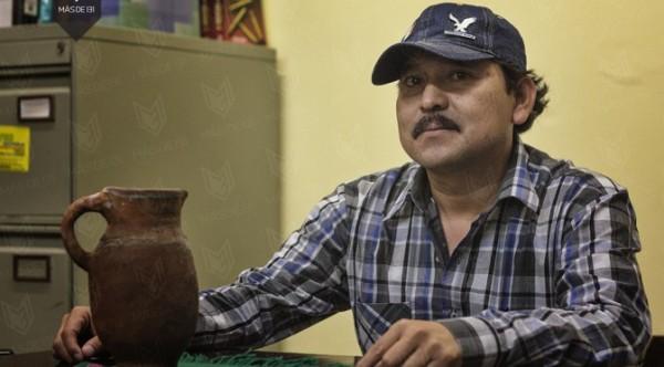 Mario Luna, líder y vocero de la tribu Yaqui.