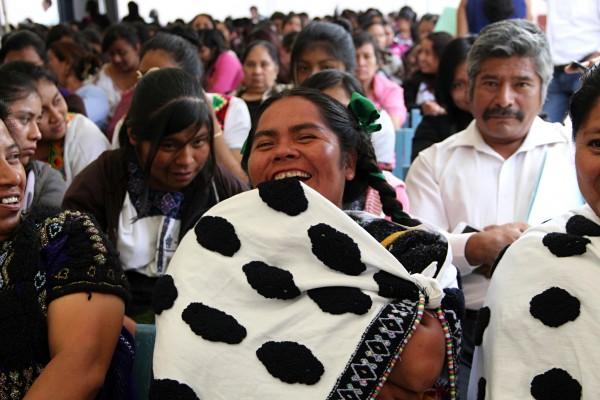 Contínua la lucha por los derechos de la mujer indígena. Foto: Elizabeth Ruiz