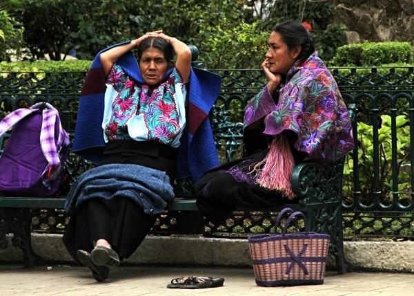 Derechos políticos de la mujer indígena, otra de las luchas. Foto: Elizabeth Ruiz