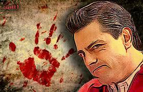 Peña Nieto y la impunidad. Imagen: Revolución tres punto cero