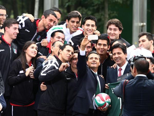 Enrique Peña Nieto, presidente de México. Foto: Presidencia