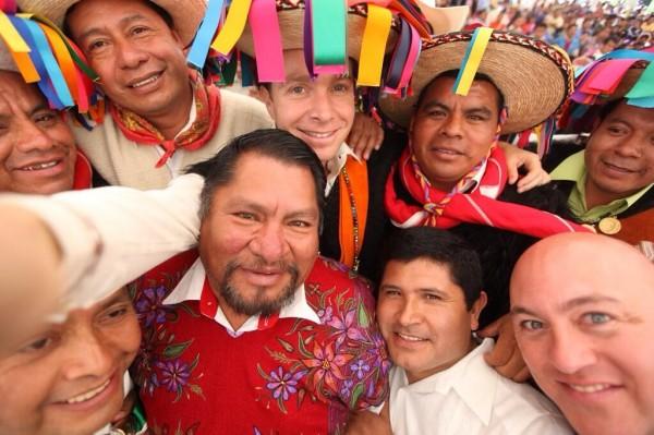 Manuel Velasco Coello, gobernador de Chiapas. Foto: Icoso