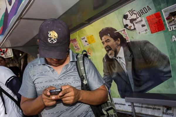 Maradona / 2014. Foto: Ariel Silva
