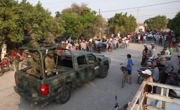 Atlataya, militares ejecutaron a civiles. Foto; Cortesía