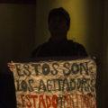 Jóvenes cuestionan al Estado mexicano. Foto: Moysés Zúñiga