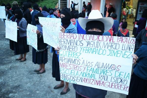 EZLN, solidaros. Foto: Elizabeth Ruiz