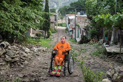 """Esta es una de las imágenes de las que conforman la serie """"Cristal"""". Foto: Ariel Silva."""