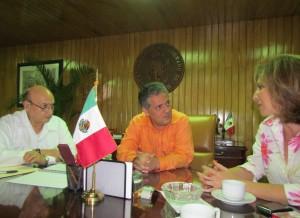 Lopez Ayanegui y Sabines Guerrero. Foto: Archivo