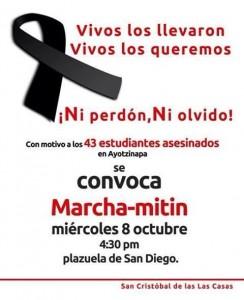 Marcha Ayotzinapa 02