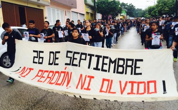 Ni perdón ni olvido #JusticiaParaAyotzinapa